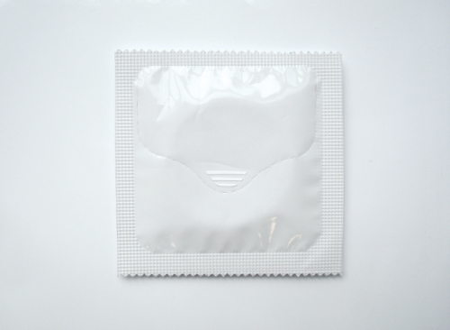 one handed condom wrapper